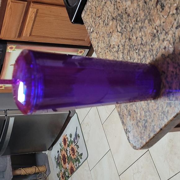 NWT 2021 Fall Collection Starbuck's Purple Edge Glow Dome Tumbler